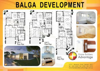 Duplex triplex and quad floor plans by hba for Multi unit floor plans